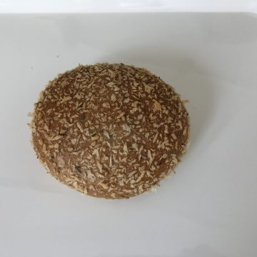 香草パン粉の焼きカレーパン